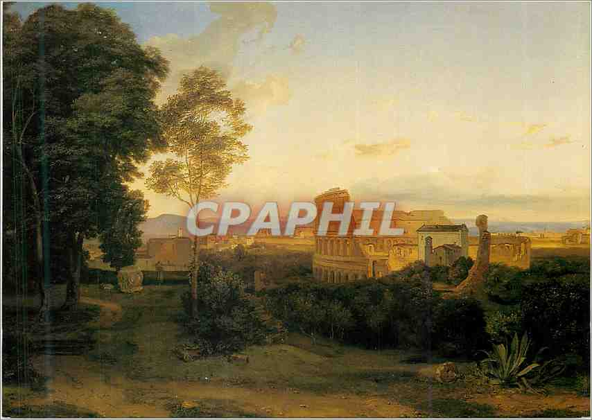 Moderne Karte Museum Folkwang Essen Das Colosseum in Rom 1828 Leinwand 0
