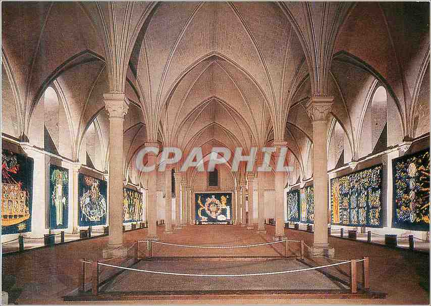 Moderne Karte Angers Hopital St Jean Jean Lurcat (1892 1966) Tapisseries le Chant du Monde 0
