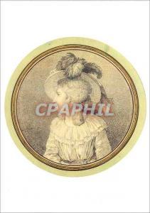 Moderne Karte Louvre Departement des Arts Graphiques Louis David 1748 1825 Portrait de Jeanne Suzanne Sedaine