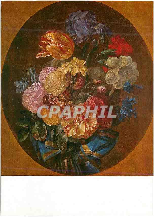 Moderne Karte Madrid Prado Luis Paret (1747 1799) Blumen Flowers Fleurs 0