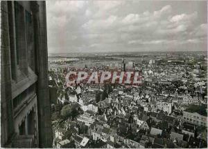 Moderne Karte Antwerpen Zicht Van Uit Torengebouw Brabo Reeks