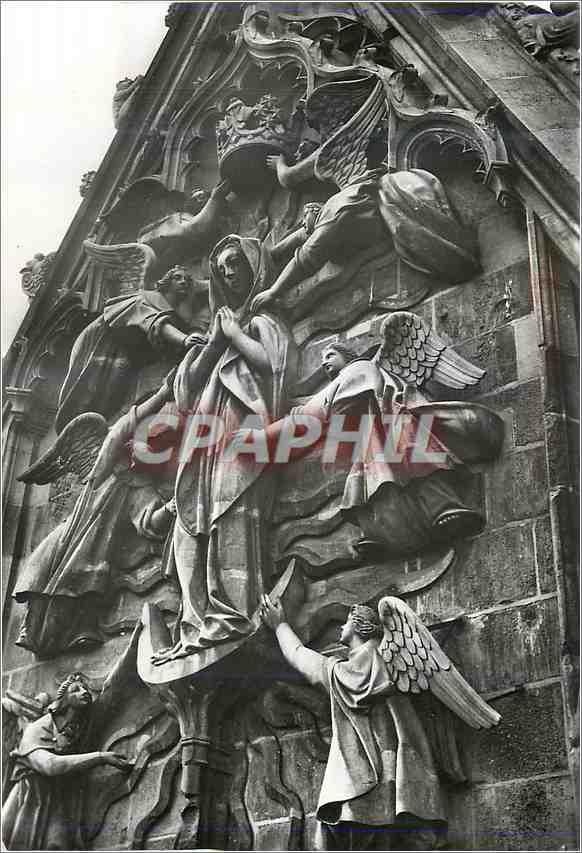 Moderne Karte Reims (Marne) la Cathedrale Notre Dame (XIIIe s) Croisillon Sud 0