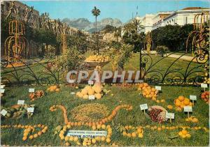 Moderne Karte Menton La Cote d'Azur French Riviera Perle de France