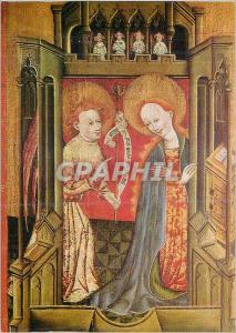 Moderne Karte Munster Germany Annunciation Master of Westphalia