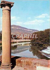 Moderne Karte Millau (Aveyron) Les Quais du Tarn au Fond le Causse Noir