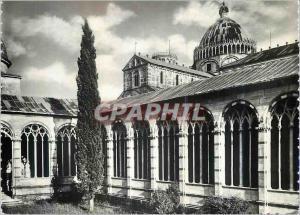 Moderne Karte Pisa Un Angolo del Camposanto Con la Cupola del Duomo