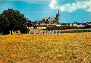 Moderne Karte En Beauce la Cathedrale de Chartres (Eure et Loir)