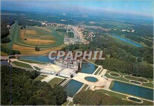Moderne Karte Chantilly (Oise) le Chateau et le Champ de Courses