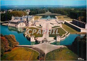 Moderne Karte Chantilly (Oise) Vue Aerienne le Chateau