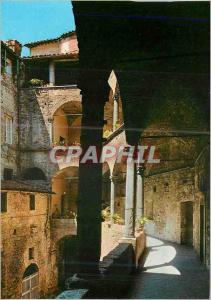 Moderne Karte Perugia Cloitre de la Cathedrale