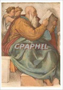 Moderne Karte Profeta Zacherias Michelangelo Roma Cappella Sistina