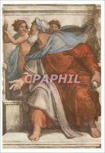 Moderne Karte Profeta Ezechiel Michelangelo Roma Cappella Sistina