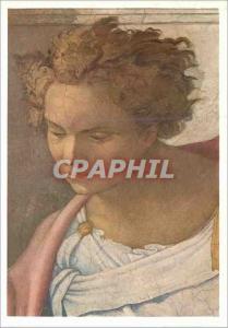 Moderne Karte Profeta Daniel Michelangelo Roma Cappella Sistina