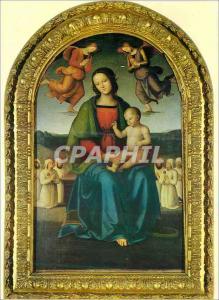 Moderne Karte Perugia Galleria Nazionale dell'Umbria Perugino (Pietro Vannucci detto il) Citta della Pieve 145