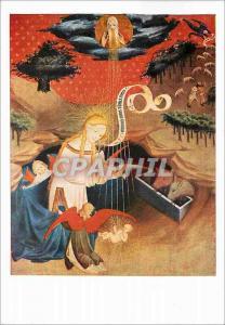 Moderne Karte Bruckmanns Bildkarte NR Meister Francke Adoration de l'Enfant Jesus