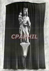 Moderne Karte Eglise Saint Gervais Paris IV Notre Dame de Bonne Delivrance Statue en pierre du XIVe siecle hon