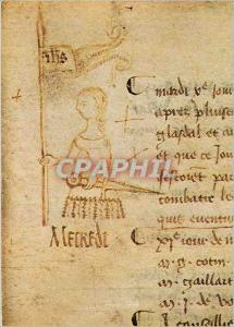 Moderne Karte Paris Musee de l'Histoire de France Archives Nationales Portrait de Jeanne d'Arc en marge du reg