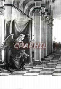 Moderne Karte Bologna Basilica di S Petronio Cappella di S Sebastiano l'Angelo annunziante L Costa (o F Franci