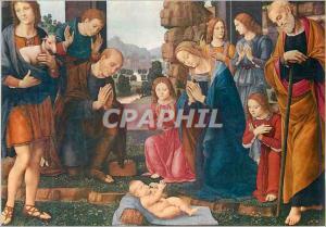 Moderne Karte Firenze Galleria Uffizi Lorenzo Di Credi Firenze 1459 Firenze 1537 L'Adoration des Pasteurs