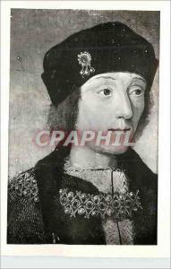 Moderne Karte Musee Calvet Avignon Ecole Francaise debut XVIe s Portrait d'Henry VII Roi d'Angleterre (1458 15