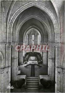 Moderne Karte Abbaye Sainte Marie de la Pierre que Vire (Yonne) L'Interieur de l'Eglise