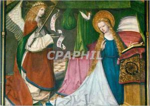 Moderne Karte Hessisches Landesmuseum Darmastadt Meister des Seligenstadter Altars Verkundigung an Maria