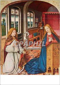 Moderne Karte Liesborner Meister um 1460 Altar der Stadtkirche in Lunen i W Verkundigung