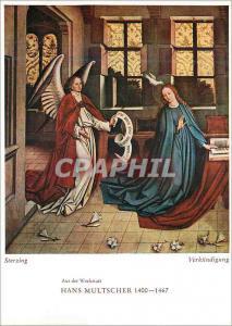 Moderne Karte Sterzing Aus der Werkstatt Hans Multscher 1400 1467 Verkundigung