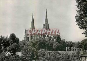 Moderne Karte La Cathedrale de Chartres L'Abside