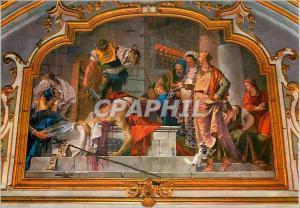 Moderne Karte Bergamo Chapelle Colleoni Fresque de G B Tiepolo (1732 1733) Decapitation de S Giovanni Battista