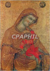 Moderne Karte Perugia Gallerie Nazionale dell'Umbria Peintre Anonyme Venetien du 14e Siecle La Vierge et l'Enf