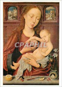 Moderne Karte Basel Kunstmuseum Niderlandischer Meister um 1500 La Vierge et l'Enfant