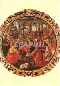 Moderne Karte Firenze Galleria Uffizi l'Adoration des Mages