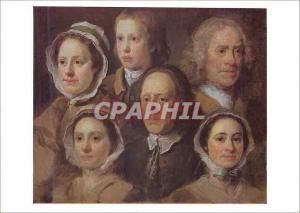 Moderne Karte William Hogarth Heads of Six of Hogarth's Servants