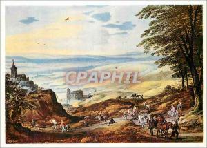 Moderne Karte Alte Pinakothek Munchen Paysage en Vue Large