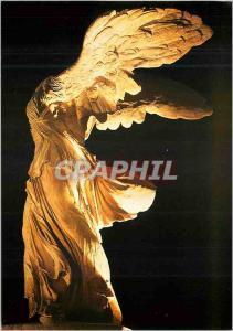 Moderne Karte Paris Musee du Louvre Victoire de Samothrace