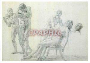 Moderne Karte Louvre Departement des Arts Graphiques Girodet 1767 1824 La Mort de Phedre
