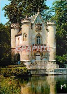 Moderne Karte En Foret de Chantilly (Oise) Couleurs et Lumiere de France Les Etangs de Comelle