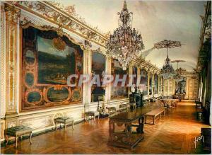 Moderne Karte Chateau Chantilly (Oise) Couleurs et Lumiere de France Galerie des Actions