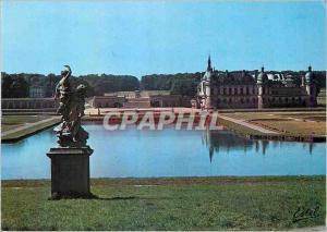Moderne Karte Le Valois Chantilly (Oise) Le Grand Chateau
