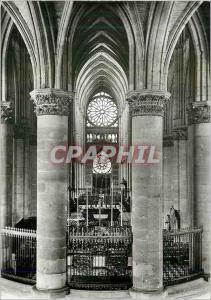 Moderne Karte Reims (Marne) la Cathedrale Notre Dame (XIIIe s) la Nef Vue du Choeur