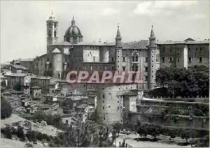 Moderne Karte Urbino Declin panoramique