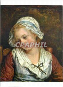 Moderne Karte Chantilly Musee Conde Jeune Fille Greuze