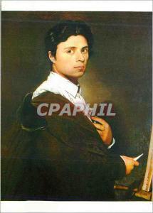 Moderne Karte Musee Conde Chantilly Portrait de l'Artiste a 24 ans