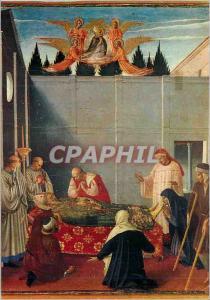 Moderne Karte Perugia Galleria Nazionale dell'Umbria Beato Angelico Tableau d'Autel des des Dominicains La Mor