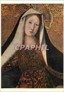 Moderne Karte Musee Conde Chantilly Ecole d'Avignon Enguerrand Charonton la Vierge de Misericorde