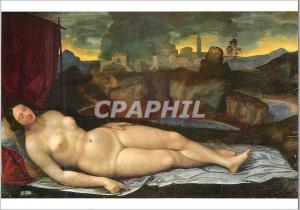Moderne Karte Roma Venus Dormant (Galerie Borghese)