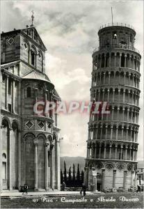 Moderne Karte Pisa Campanile e Abside Duomo