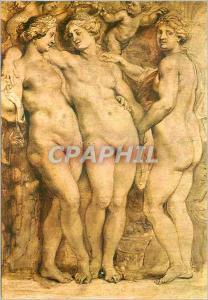 Moderne Karte Firenze Galleria Pitti les Trois Graces