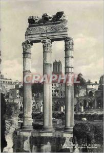 Moderne Karte Roma Foro di Cesare Tempio di Venere